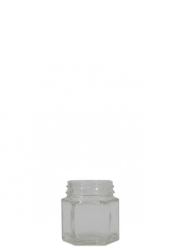 JAR HEXAGONAL 40ml pr